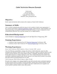90 Computer Technician Resume Example Electronic Technician