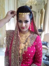traditional bridal makeup indian stani south asian wedding
