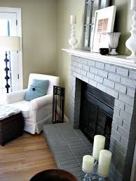 The Ashes From The Fire Saved For Cleaning Purposes Part Fill A Cleaning Brick Fireplace Front