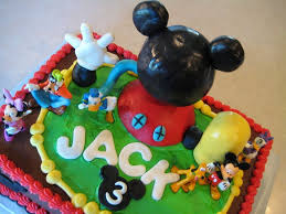 Mickey Mouse Clubhouse Birthday Cake Mickey Mouse Birthday Cake
