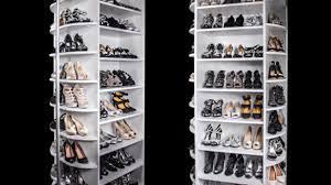 360 degrees of shoe organizing heaven