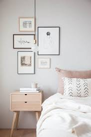 Tips For Hanging Wall Art Bedroom Makeover Vintage Gallery Wall Impressive How To Clean Bedroom Walls