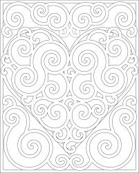 Heart Mandala Coloring Pages Getcoloringpagescom