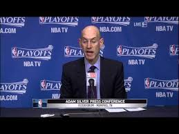 NBA commissioner Adam Silver on Clippers owner Donald Sterling ... via Relatably.com