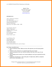 References On A Resume 100 List Of Reference Example How To Make A Cv 66