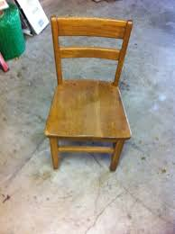 how to make a chair diy childrens chair step 1