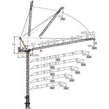 Tower Crane Lifting Capacity Chart Tower Cranes Fleurieu Cranes