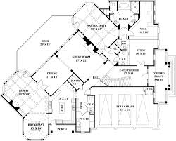 Delano_1st FloorSFW delano 8229 4 bedrooms and 4 baths the house designers on home plan cad file