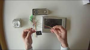 genway doorphone 4 wire system