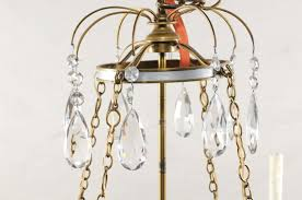 parc monceau attributed to maison jansen jumbo bronze and steel bell jar chandelier atlanta ga