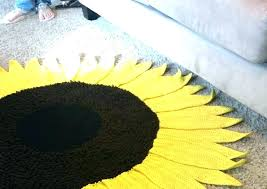kitchen rug sunflower sunflower kitchen rugs sunflower rug sunflower rug crochet pattern sunflower rugs for kitchen
