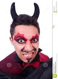 man in devil costume horror funny
