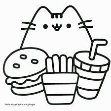Unique Coloring Picture Hello Kitty Cat Doyanqqme
