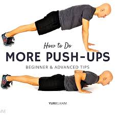 How To Do More Push Ups Free Training Plan Yuri Elkaim