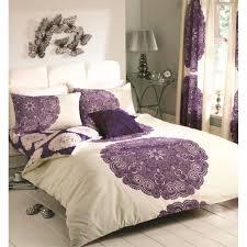 just contempo baroque duvet cover set double purple co uk kitchen home