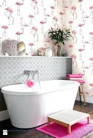 flamingo bathroom decor pink accessories lovely luxury beach wall for ideas bedroom