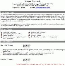 Sample Bartender Resume Skills Resume Bartender Resume Badak