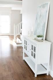white entryway furniture. The Entryway Table Is Sturdy U0026 I Love Its Minimalist Look White Furniture