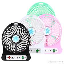 f95b mini portable fan multifunctional usb rechargerable kids table fan led light 18650 battery adjule 3 sd for indoor outdoor kids kids gadgets