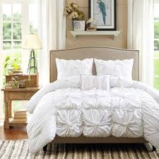 madison park maxine pintuck 4 piece cotton duvet cover set free today com 16119943