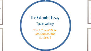 The Extended Essay Introduction Conclusion And Abstract By