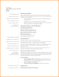 5 Educational Resume Template Cashier Resumes