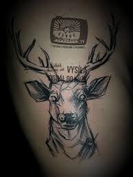 Tetování Motivy Zvířat Bok Tetování Tattoo