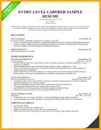 Resume Objective Examples Cool Entry Level Management Resume Objective Examples Summary Sample