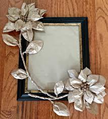 Paper Flower Frame Brown Paper Flowers To Decorate Frame Hometalk