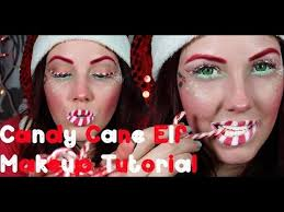santa costume ideas candy cane elf makeup tutorial merry