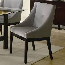 upholstered dining room chairs with oak legs beautiful chair cool modern upholstery fabric por gany black furniture white arms sets grey steel