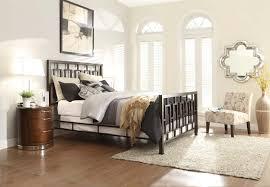 Metal Bedroom Furniture Set Homelegance Zelda Brushed Brown Metal Bedroom Collection Brushed