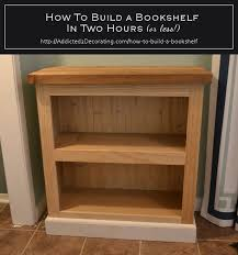 build your own bookshelf. Delighful Own How To Build A Bookshelf In Two Hours Or Less And Build Your Own Bookshelf D