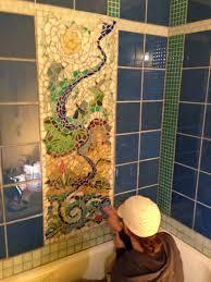 backsplashes showers and countertops mosaic backsplashes