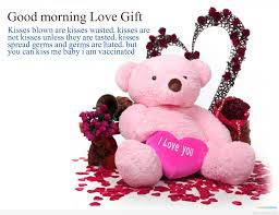 love gift good morning e message