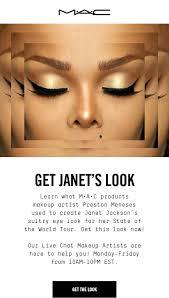 mac get janets look learn what mac s makeup artist preston meneses used to create