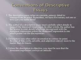 descriptive writing 6 1
