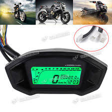 yamaha genuine oe motorcycle speedometer new digital lcd motor motorcycle odometer speedometer tachometer gauge for honda
