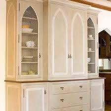 china cabinet hardware. Exellent China Gray China Cabinet With Moorish Style Doors On Hardware DecorPad
