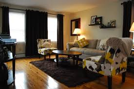 soft pink and yellow chocolate brown and yellow living room