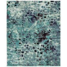 monaco light blue multi 9 ft x 12 ft area rug