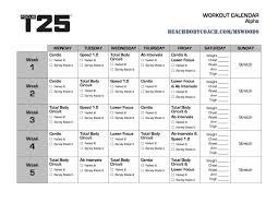 t25 calendar printable mice is living well focus t25 workout calendar