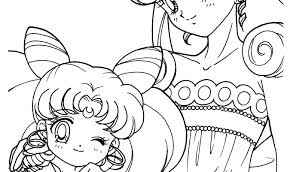 Anime Coloring Pages Games For Adults To Print Online Mandala Kids