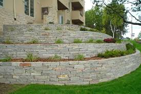 slate retaining wall natural retaining wall stone at stone co in stone retaining wall blocks