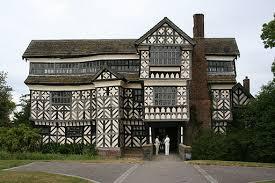 Little Moreton Hall. Tudor houses ...