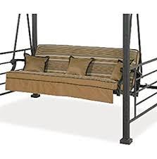 Amazon Cushion Set for Tar 3 Seater Gazebo Swing Garden