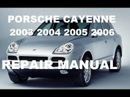 porsche cayenne fuse box locations porsche cayenne 2003 2004 2005 2006 service manual repair manual