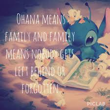 Ohana Means Family Quote Beauteous Ohana Means Family And Family Means Nobody Gets Left Behind Or