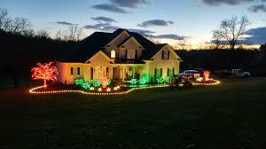 christmas home lighting. Professional Christmas Lights Install Home Lighting