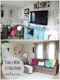 Mobile Home Living Room Reveal Single Wide Cow And Single Wide Best Living Room Turquoise Remodelling